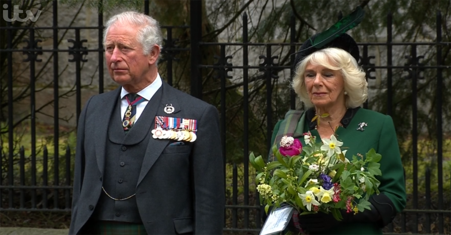 Prince Charles and Camilla pay emotional tribute on 75th anniversary of VE Day