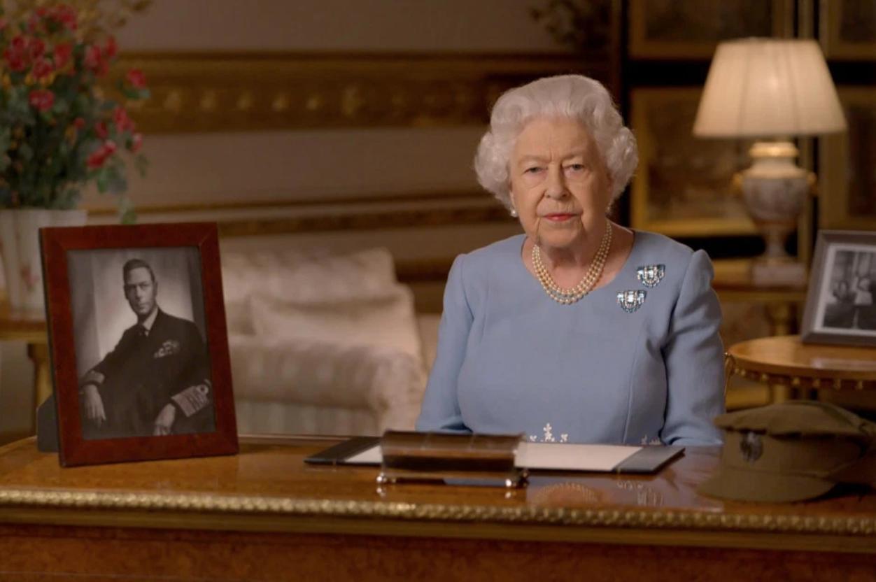 Queen VE Day address