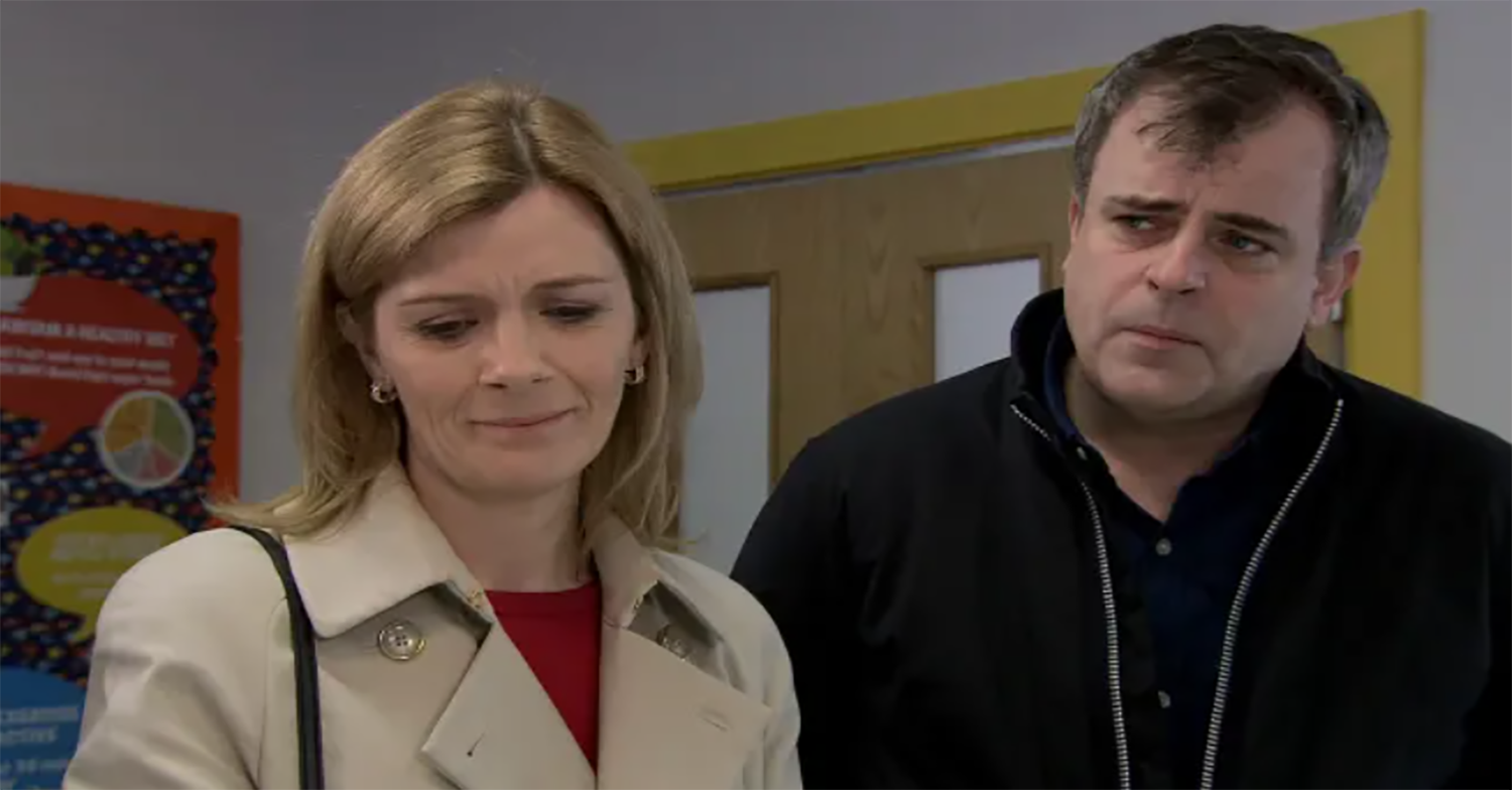 Coronation Street's Leanne and Steve could reunite over Oliver's condition