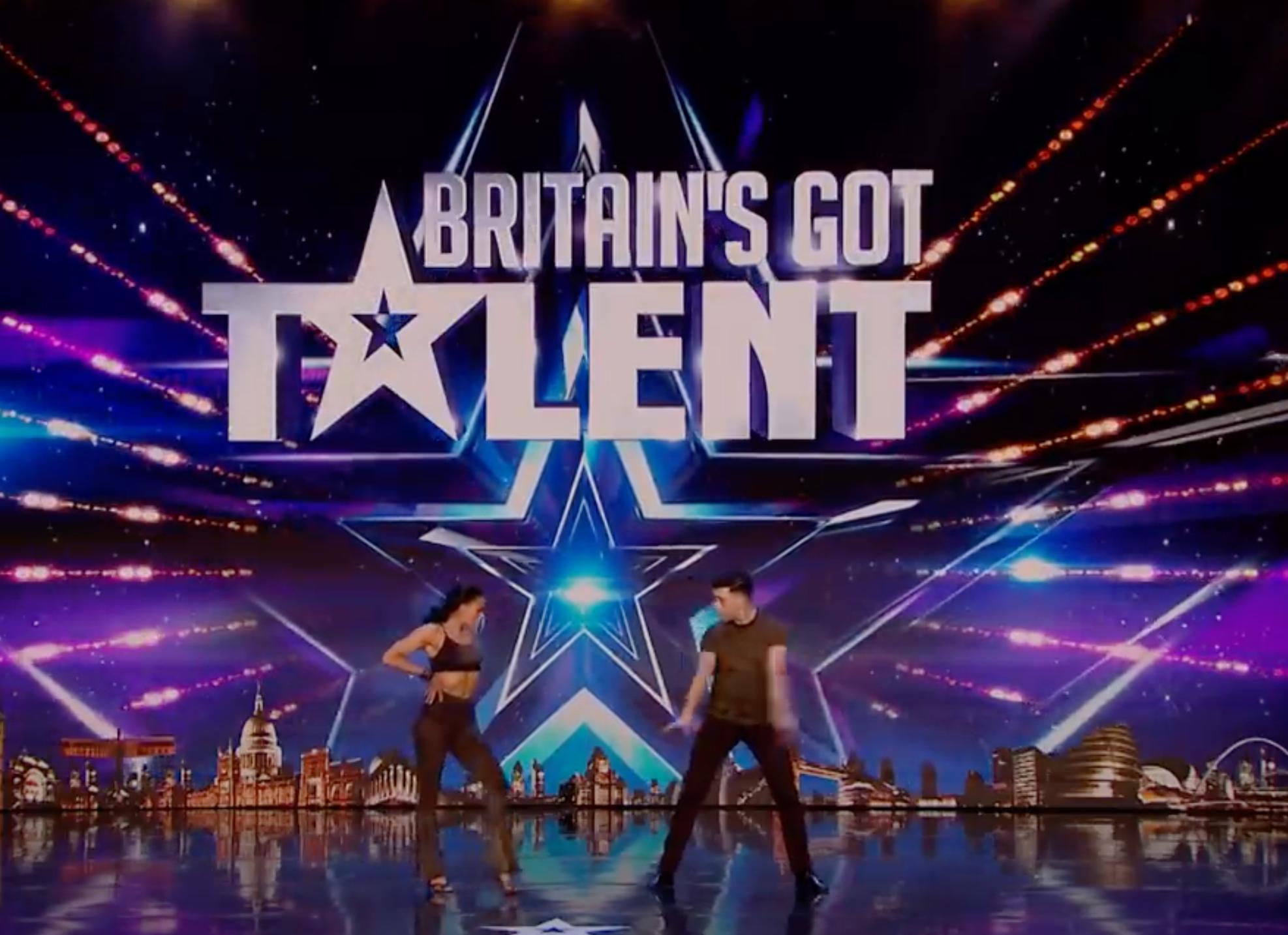 BGT Aaron Jasmine (Credit: ITV)