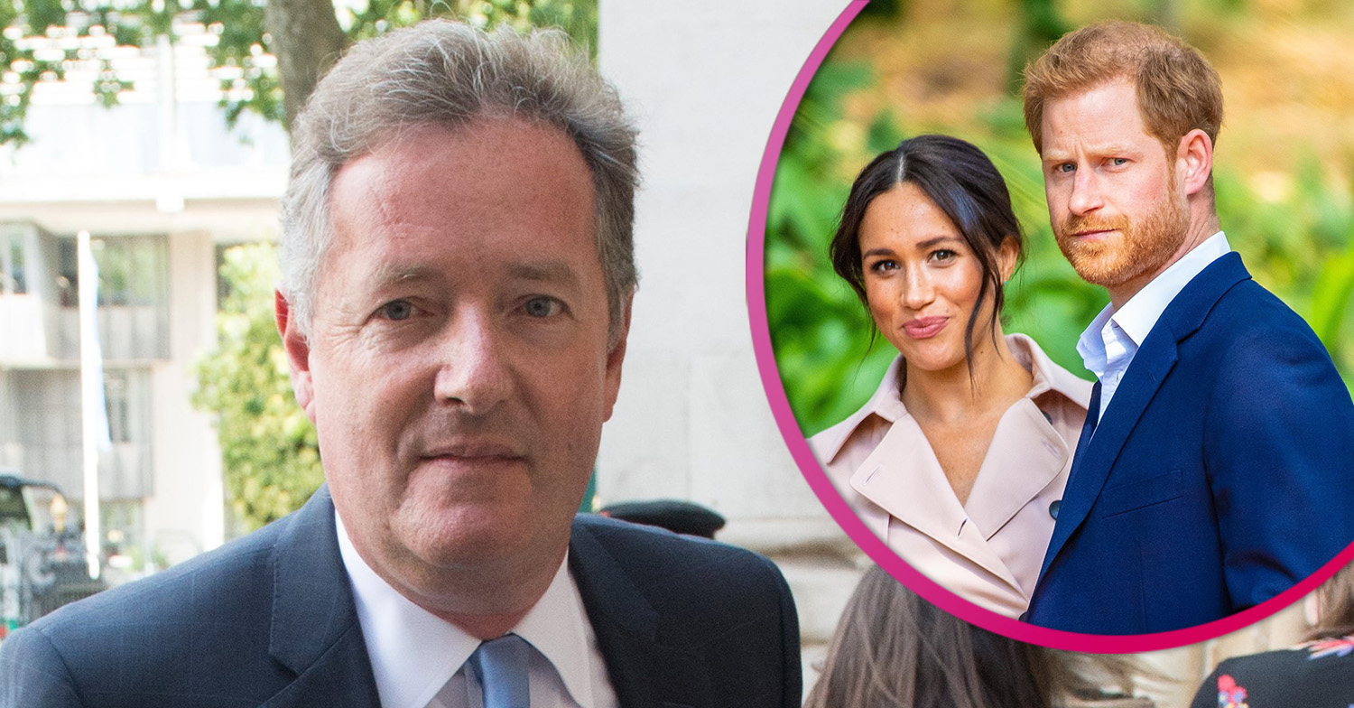 Piers Morgan admits he's taken Meghan and Harry comments 'too far'