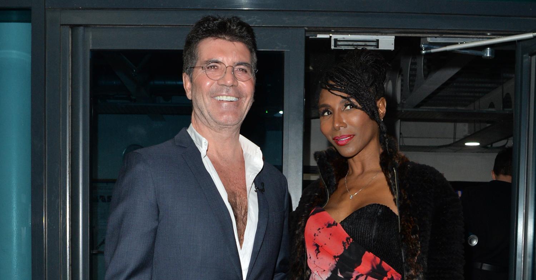 Simon Cowell and Sinitta seen at the X factor , London