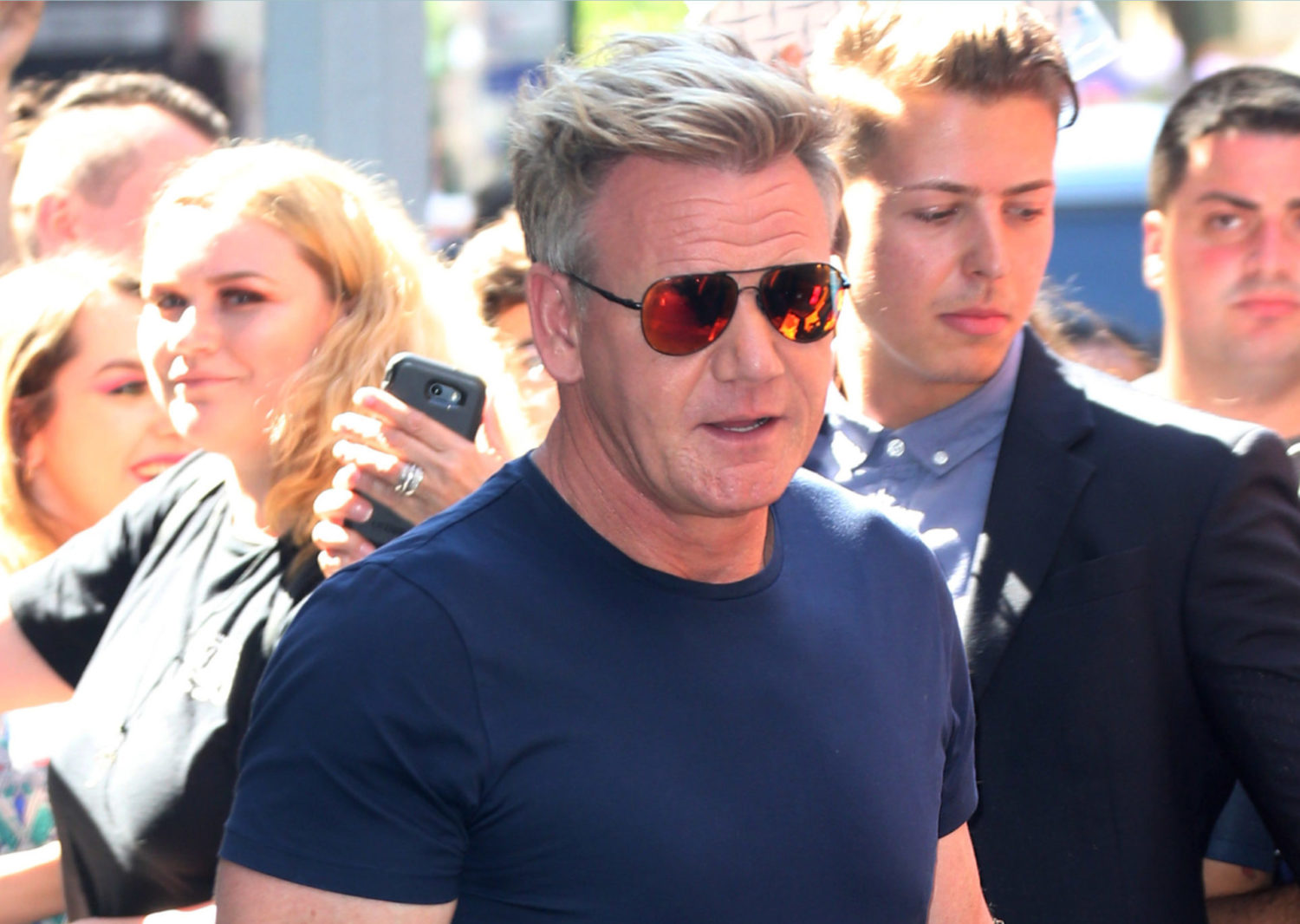 Gordon Ramsay ignores lockdown backlash as he's spotted out in Cornwall