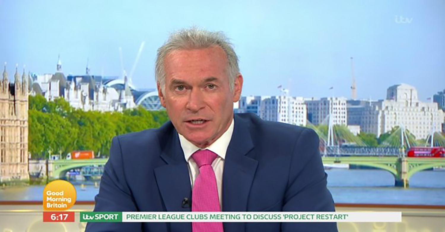 Dr Hilary Jones criticises the government's 'confusing' lockdown guidelines