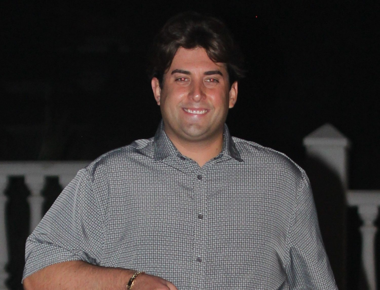 James Argent shows off his five-stone weight loss