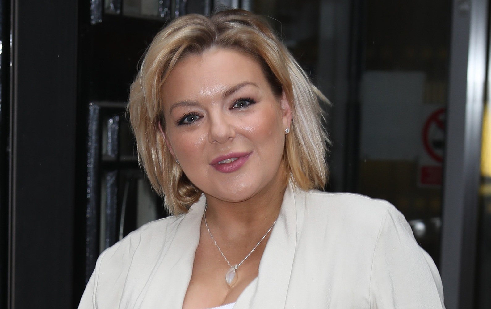 Sheridan Smith sends touching message to fans after giving birth to son
