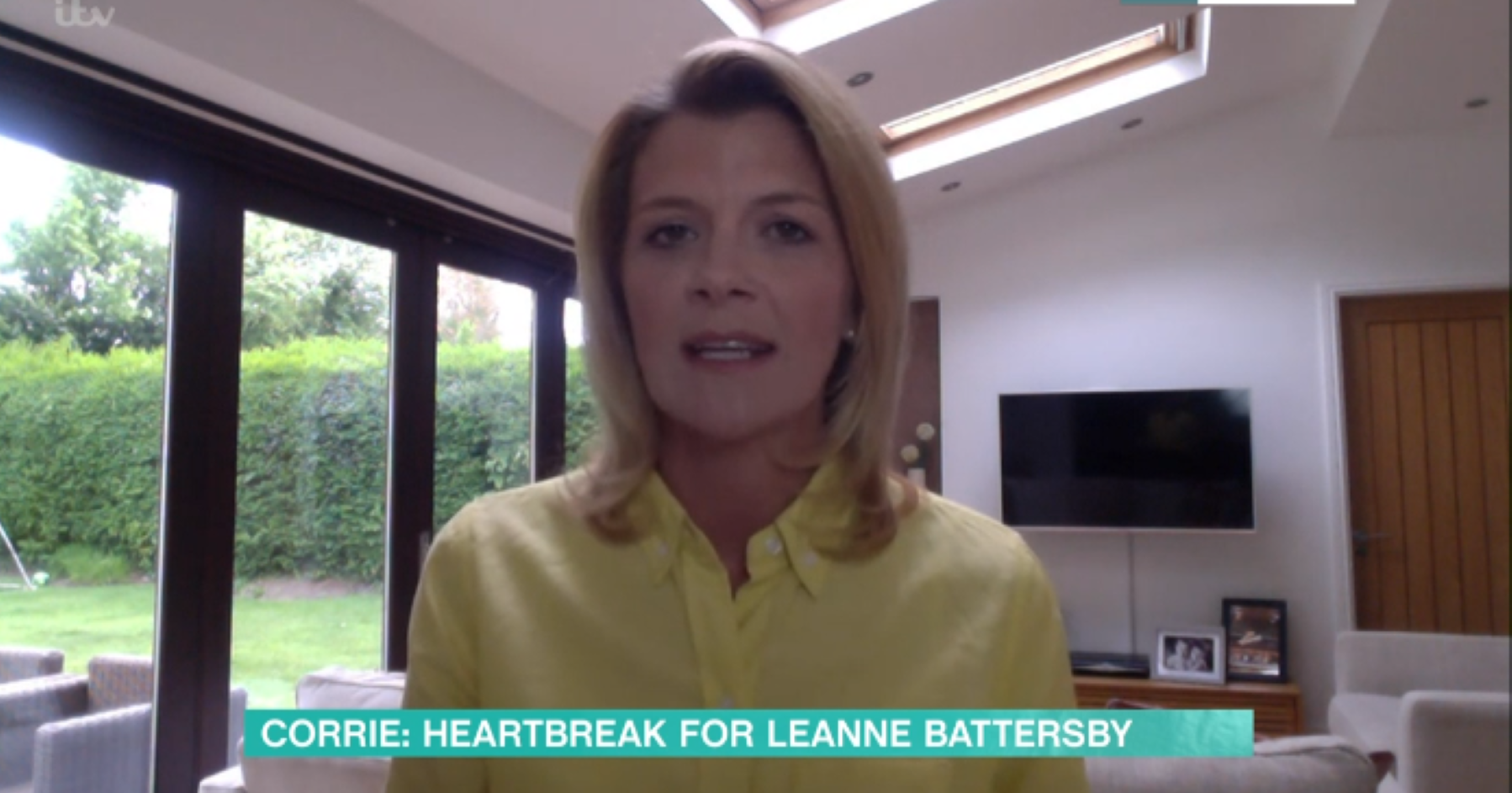 Coronation Street's Jane Danson close to tears in This Morning interview as she talks Oliver's diagnosis