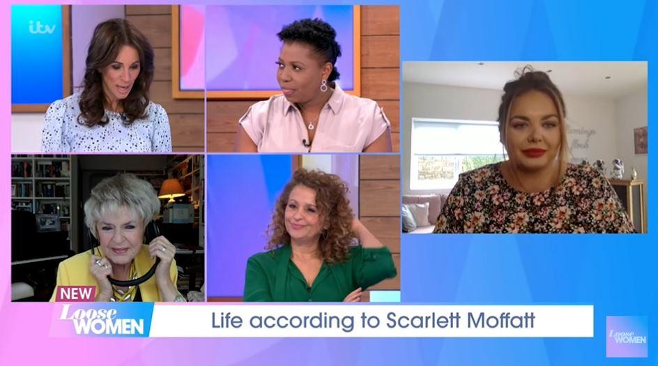 Scarlett Moffatt on Loose Women