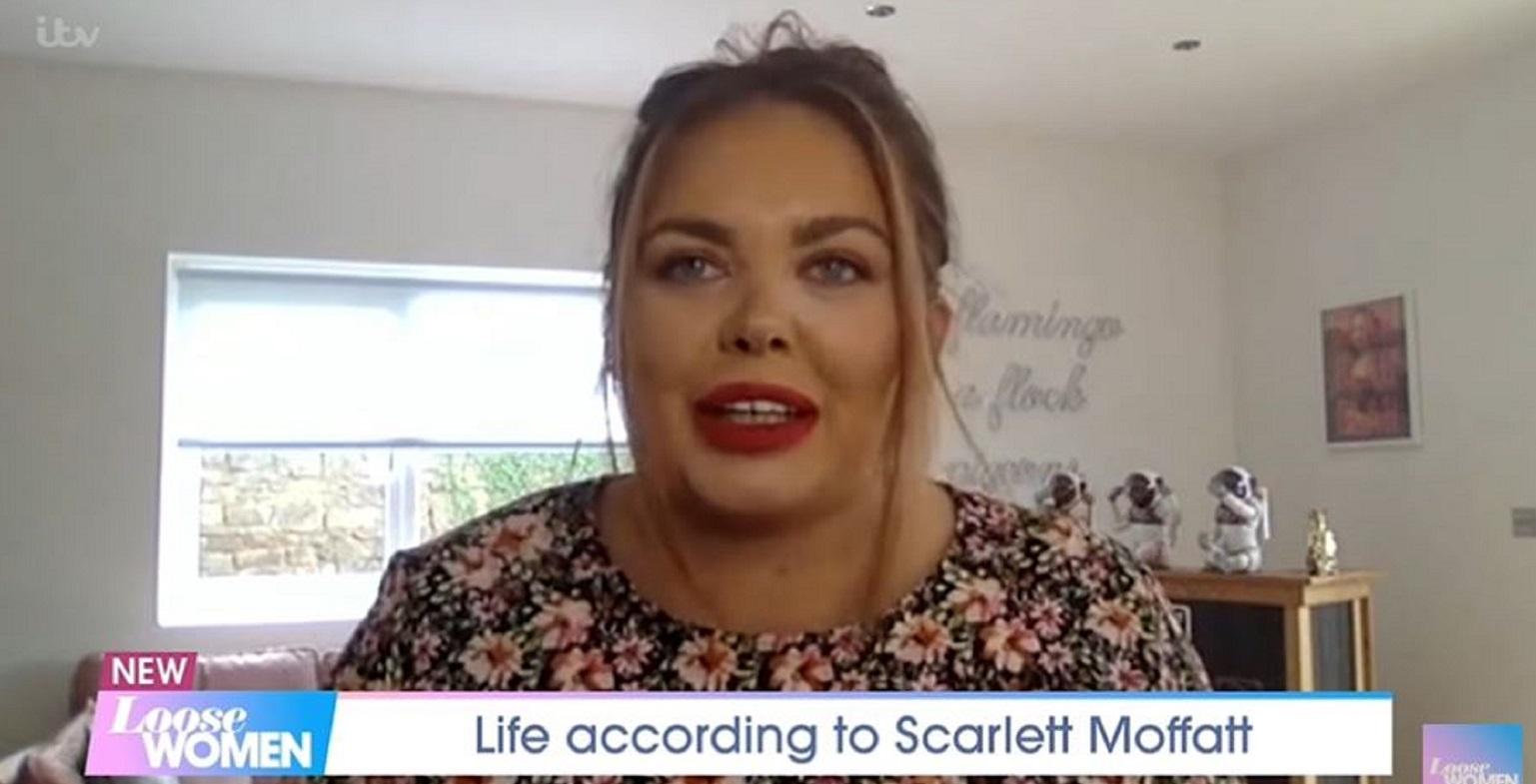 Scarlett Moffatt claims she was abducted by aliens in bizarre Loose Women interview