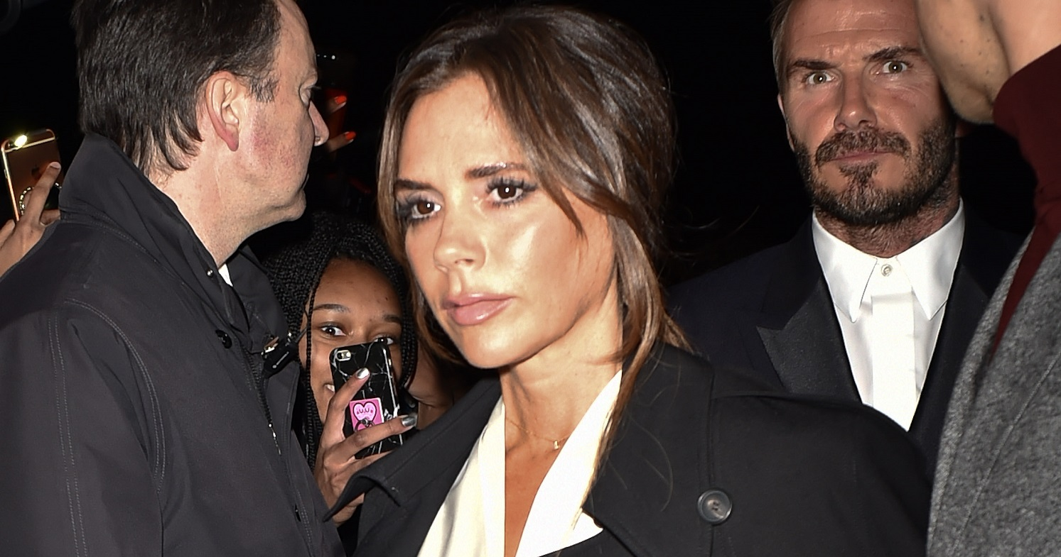 Dane Bowers claims Victoria Beckham 'wet herself' during interview