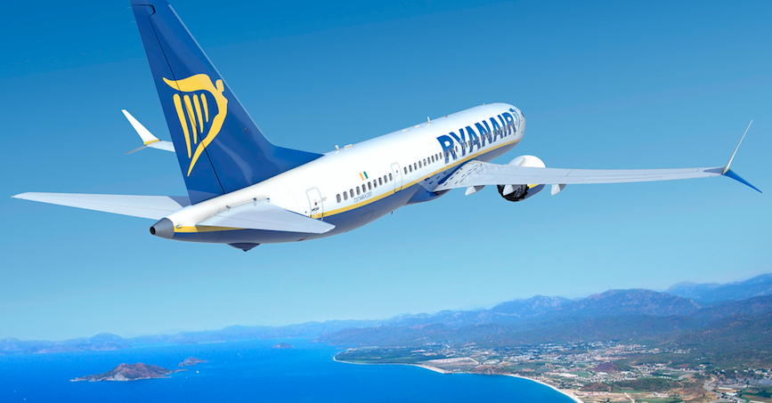 Ryanair says it's time to 'get Europe flying again' as it announces plans to restore 40% of flights from July 1