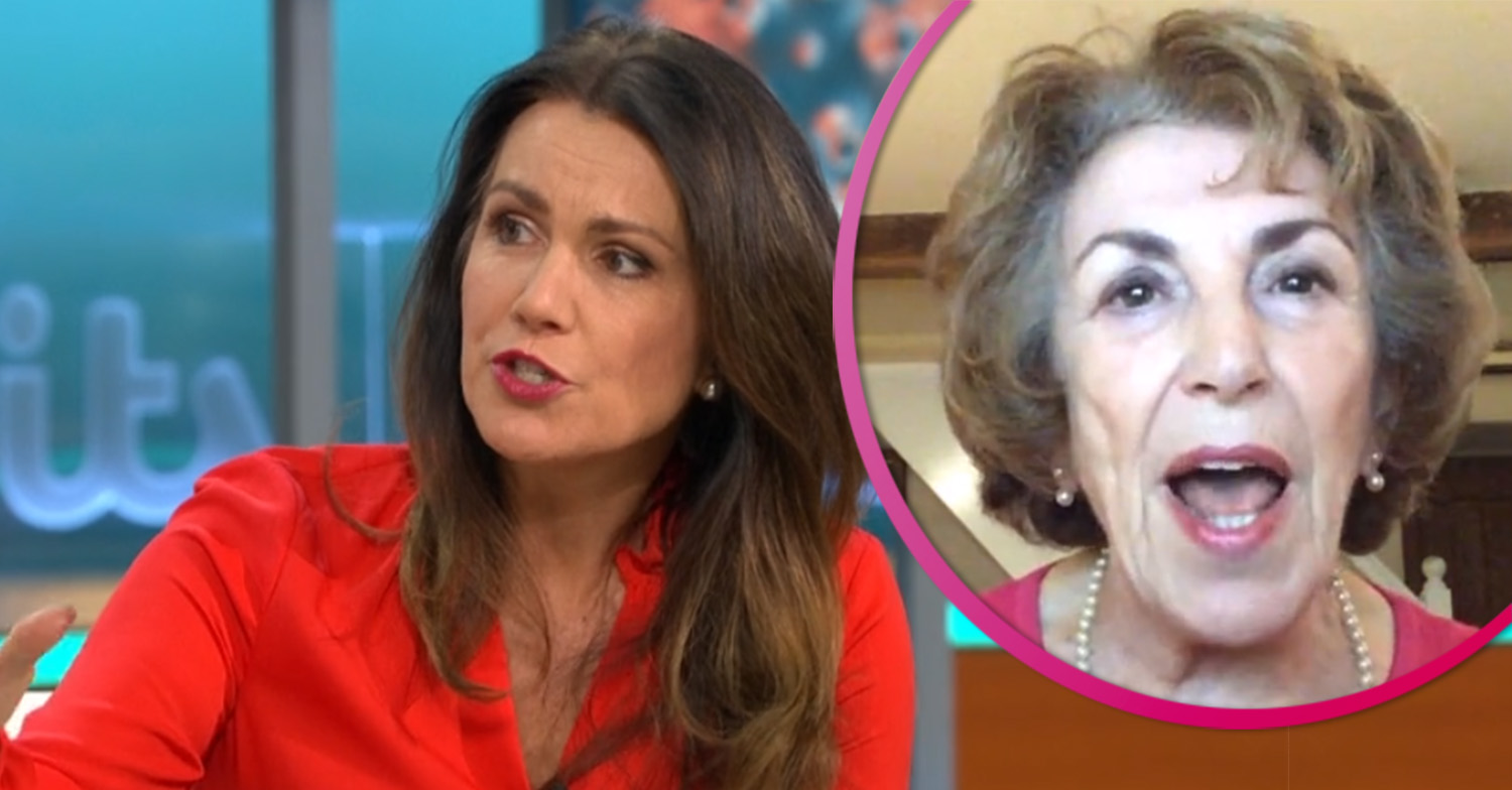 Susanna Reid clashes with Edwina Currie in intense debate over lockdown rules on GMB