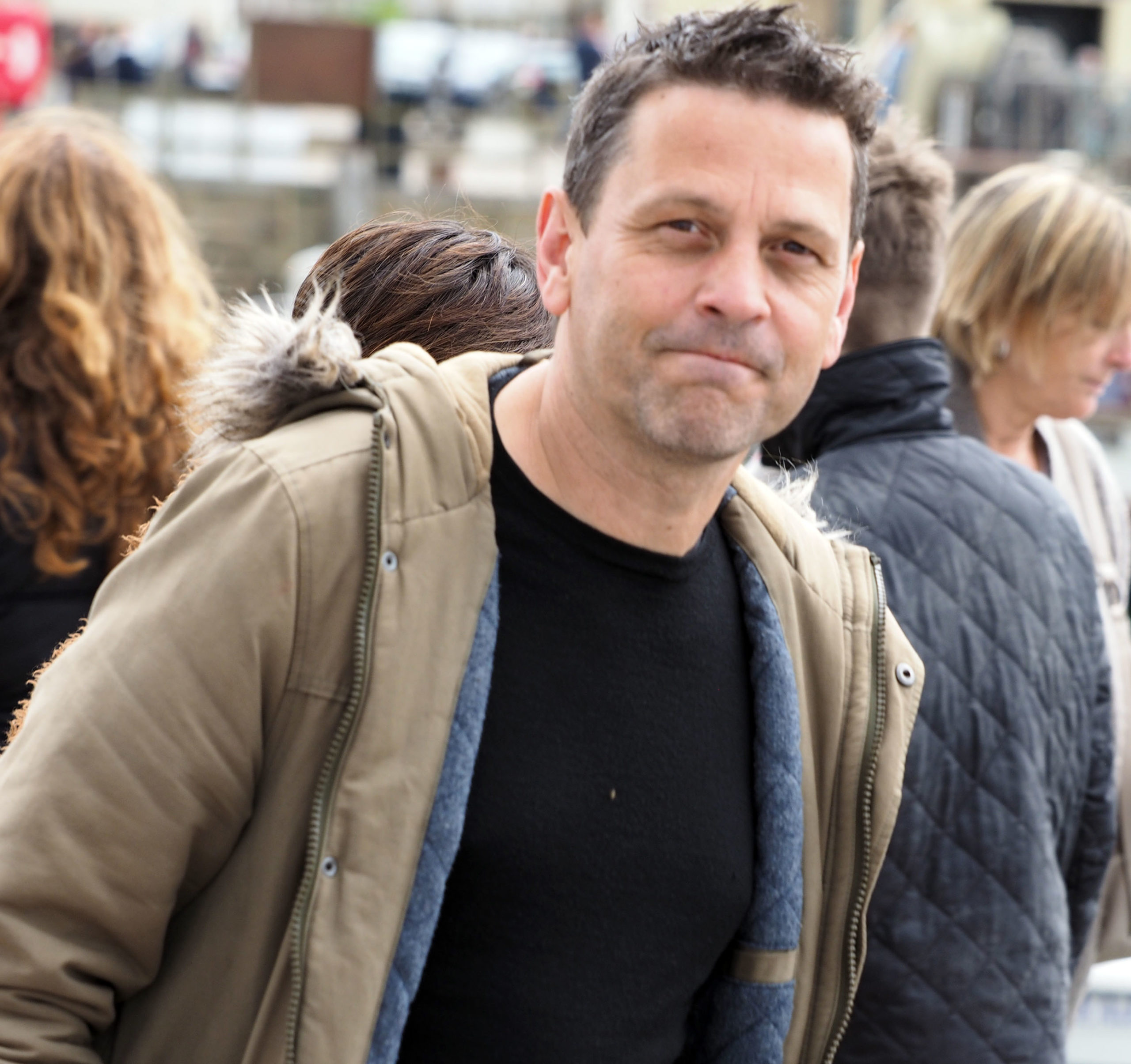 Julie Hesmondhalgh's husband Ian Kershaw (Credit: Shutterstock)