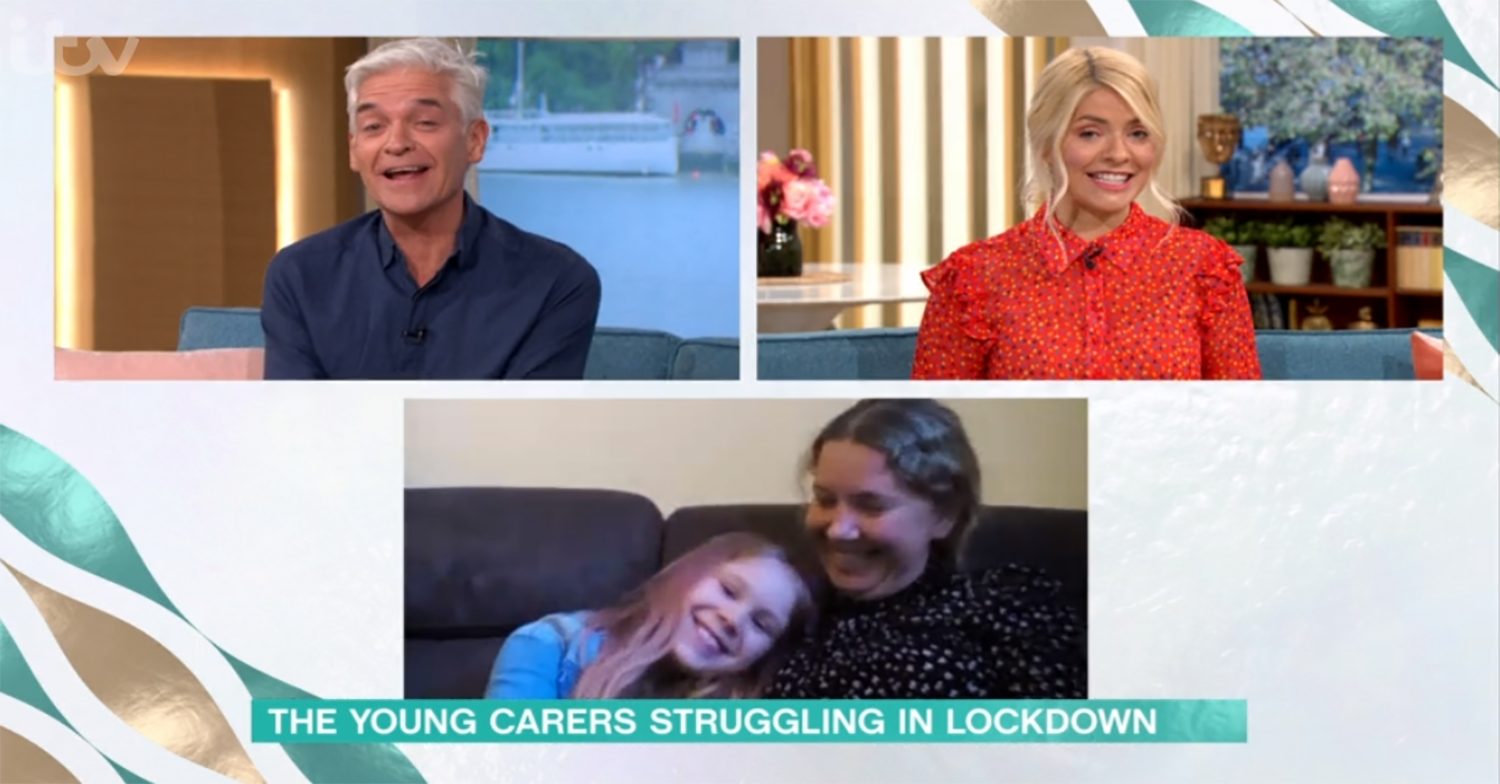 This Morning fans emotional over Phillip Schofield and Holly Willoughby's gift to young carer