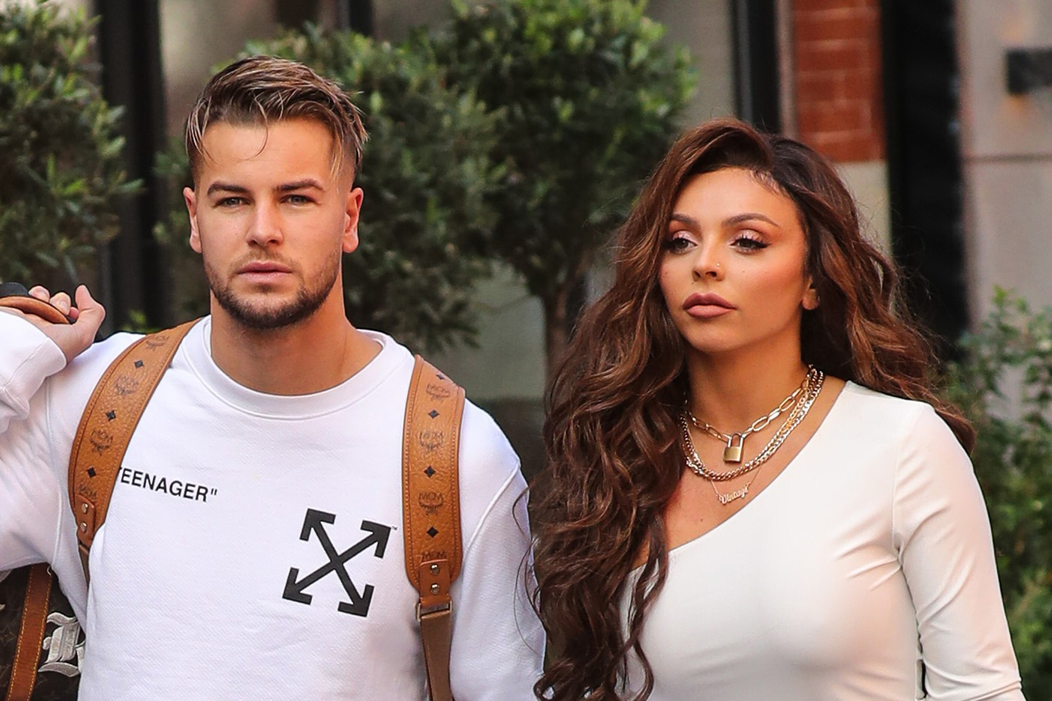 Chris Hughes steps in to defend ex Jesy Nelson against Katie Hopkins