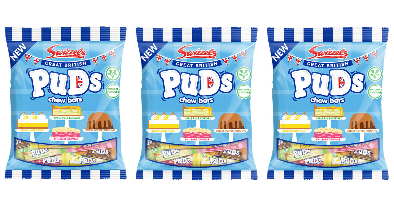 Swizzles launches new range of chewy sweets inspired by classic British puddings