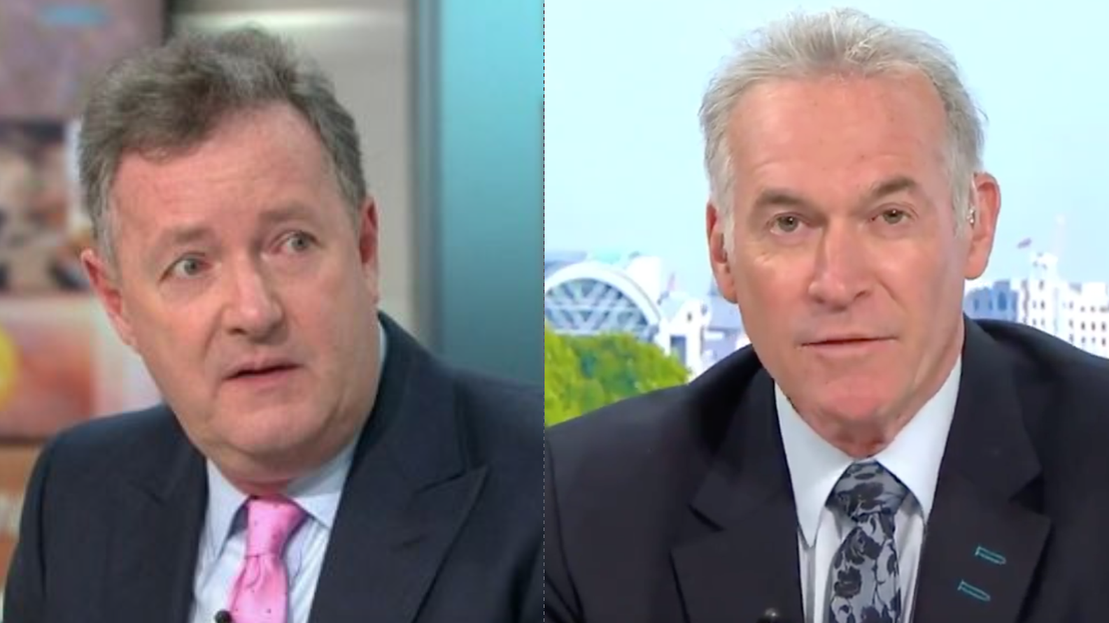 GMB fans turn on Dr Hilary Jones for the first time after explosive debate with Piers Morgan