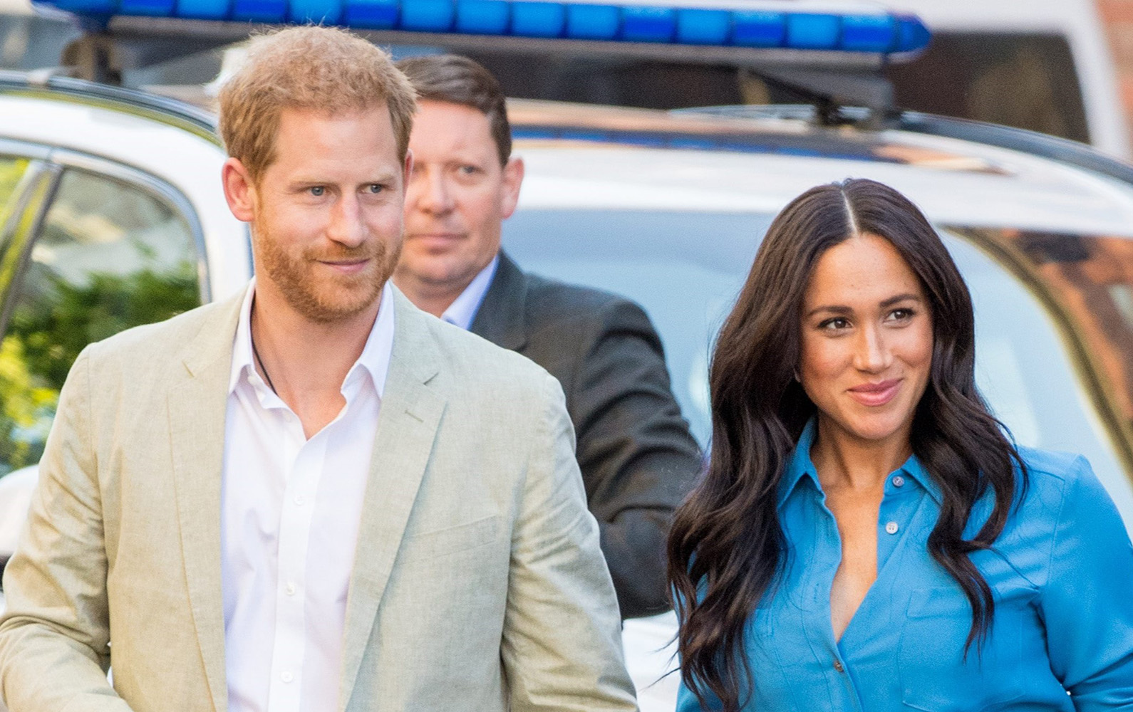 Harry and Meghan 'put up privacy screens around LA mansion after quitting royal family'