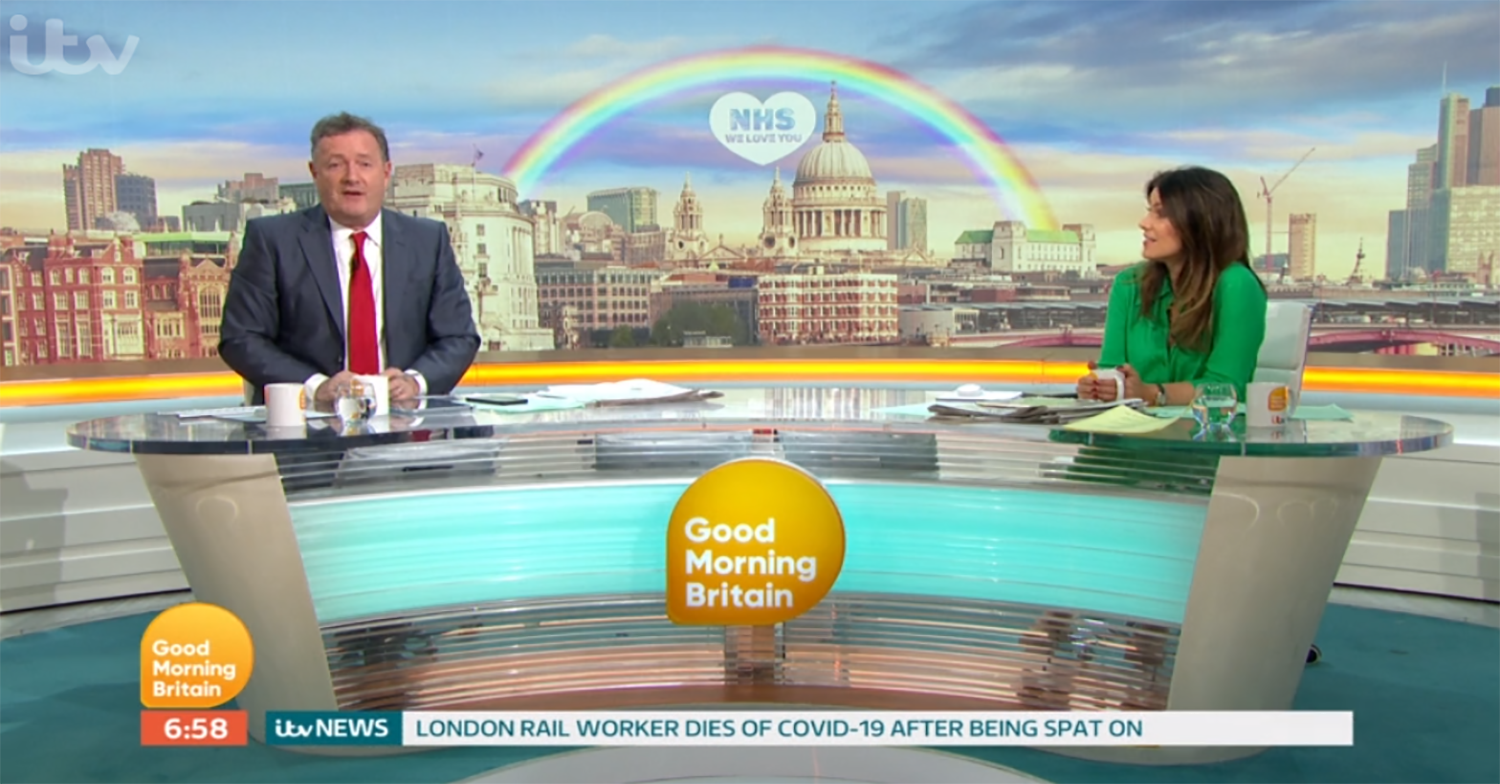 GMB hit by more than 500 Ofcom complaints in just eight days over interviews