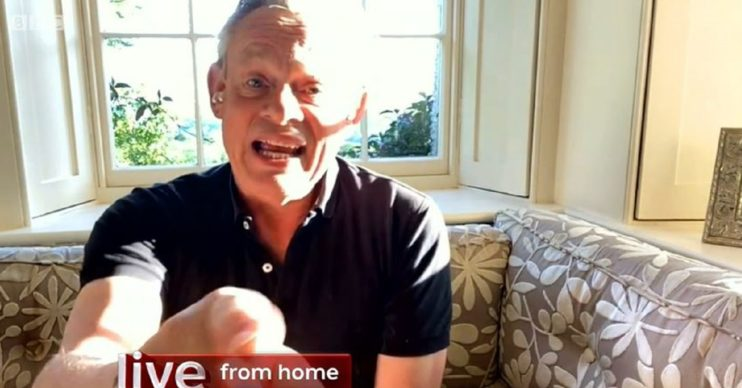 Martin Clunes on The One Show