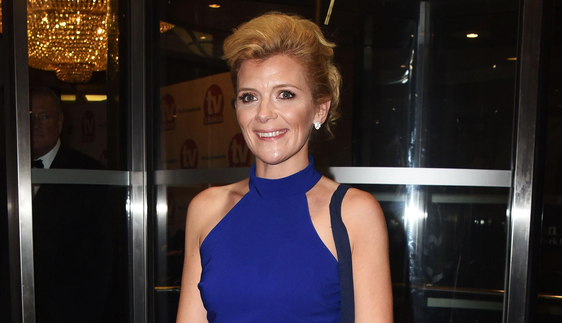 Coronation Street star Jane Danson shows off husband's hairdressing skills in lockdown