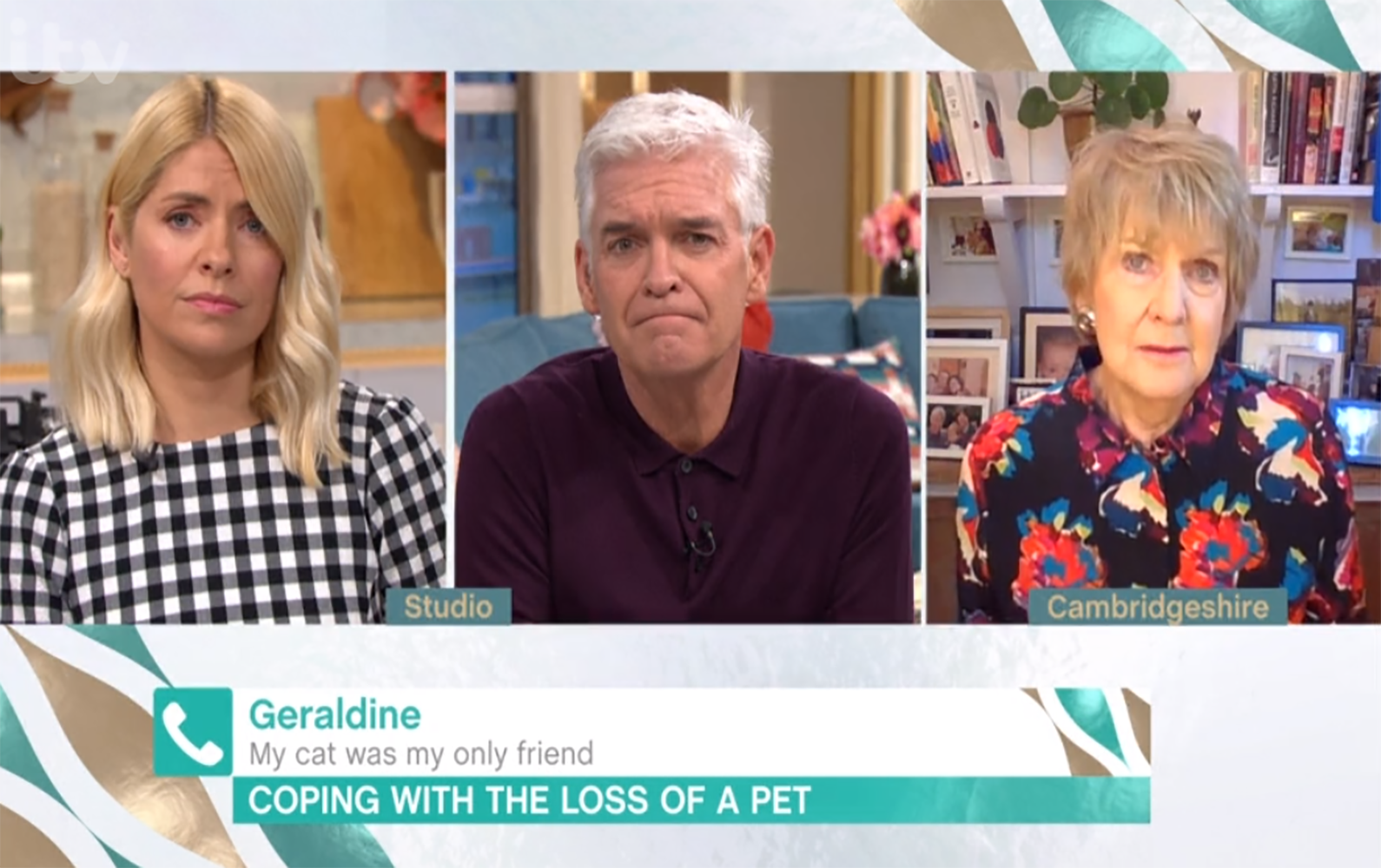 This Morning viewers in tears as elderly woman cries over losing her beloved cat