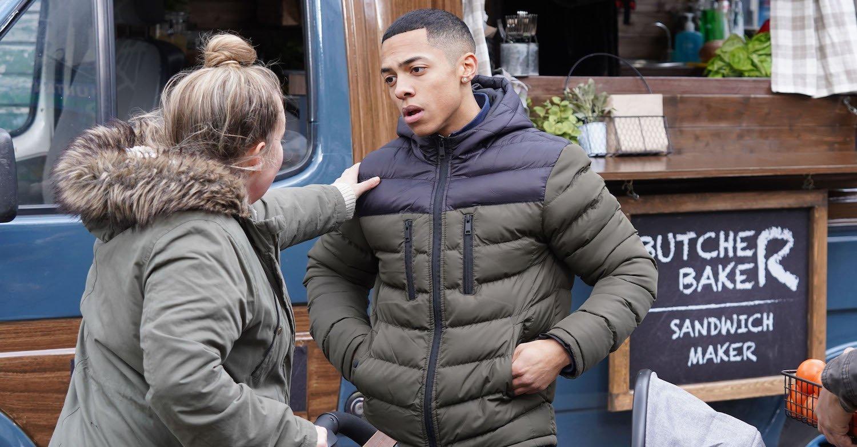 EastEnders fans beg soap to give Keegan a break as his van is trashed