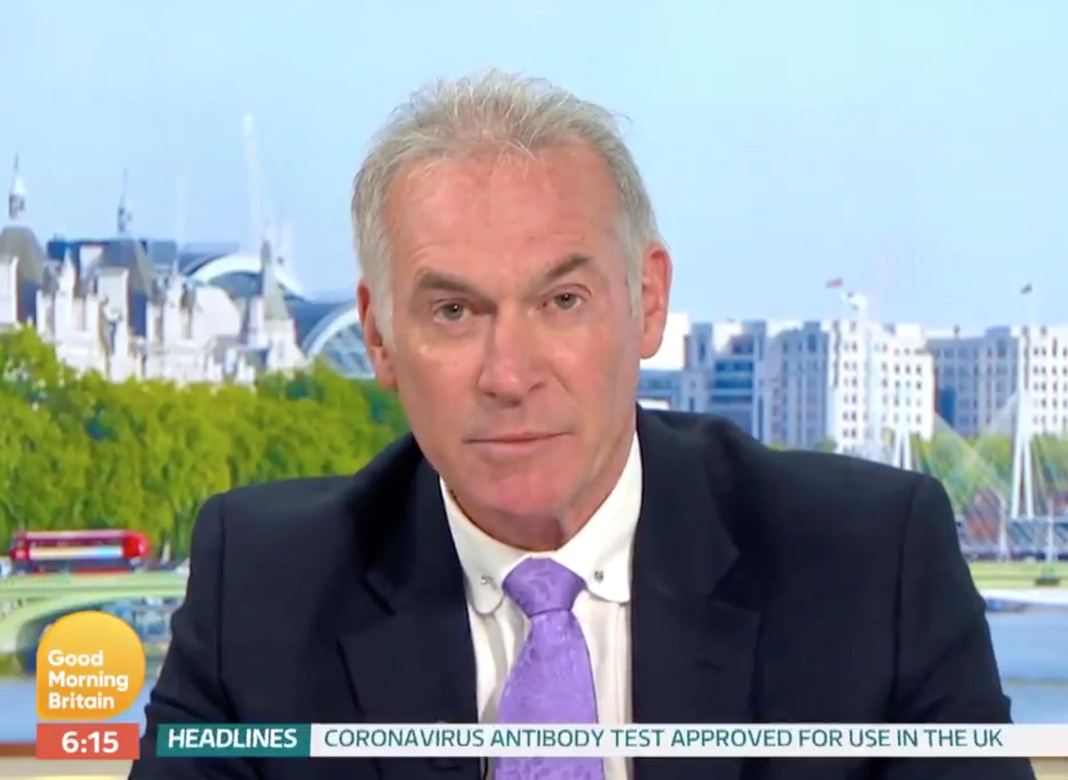 Grim coronavirus vaccine 'reality check' given on Good Morning Britain