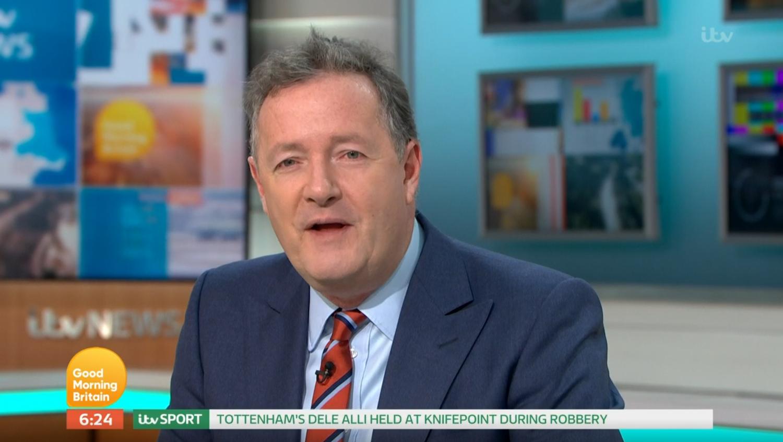 Piers Morgan coronavirus (Credit: ITV)