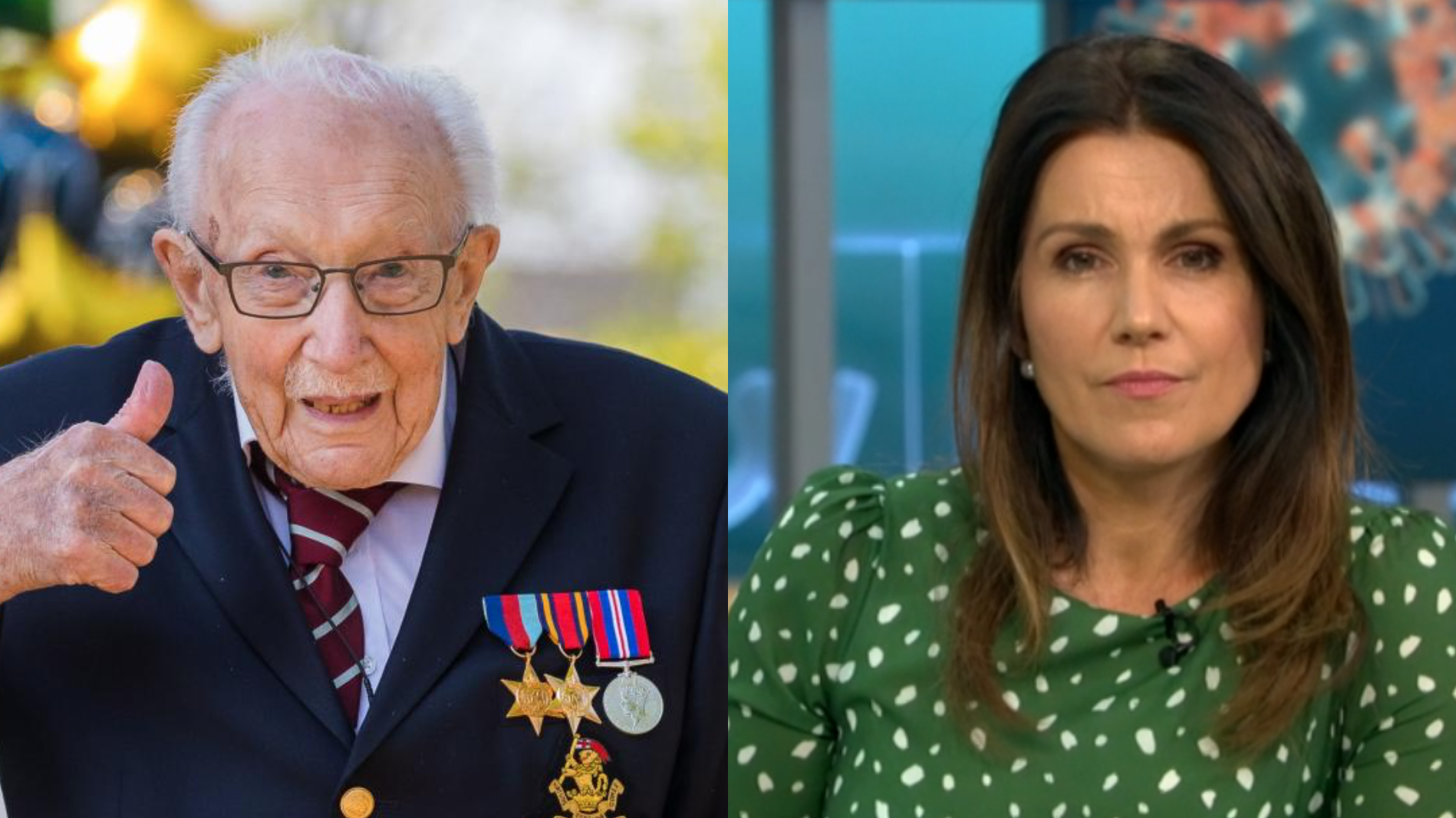 Colonel Tom Moore's GMB interview leaves fans in tears after he discusses late wife Pamela