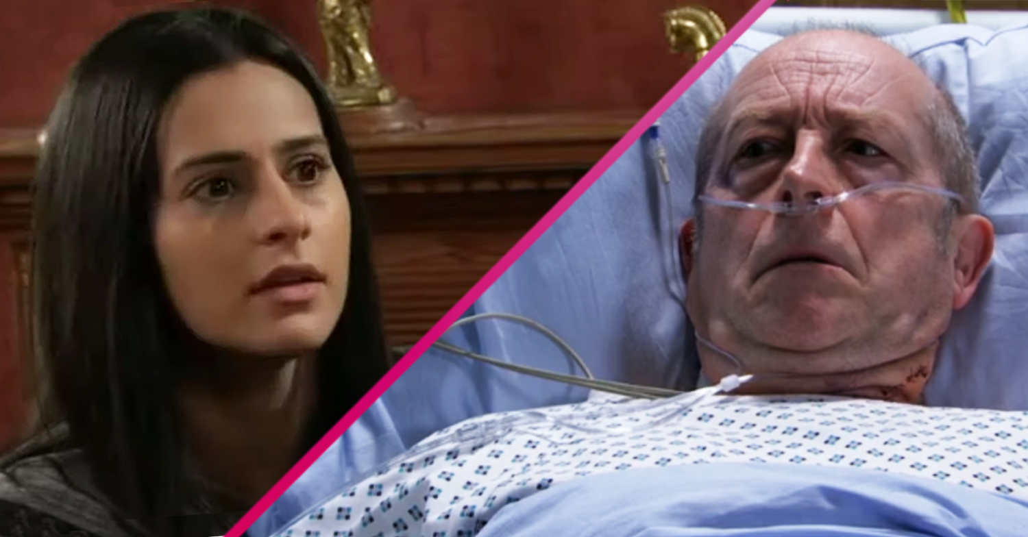 Coronation Street begins Geoff's downfall as Alya changes the locks?