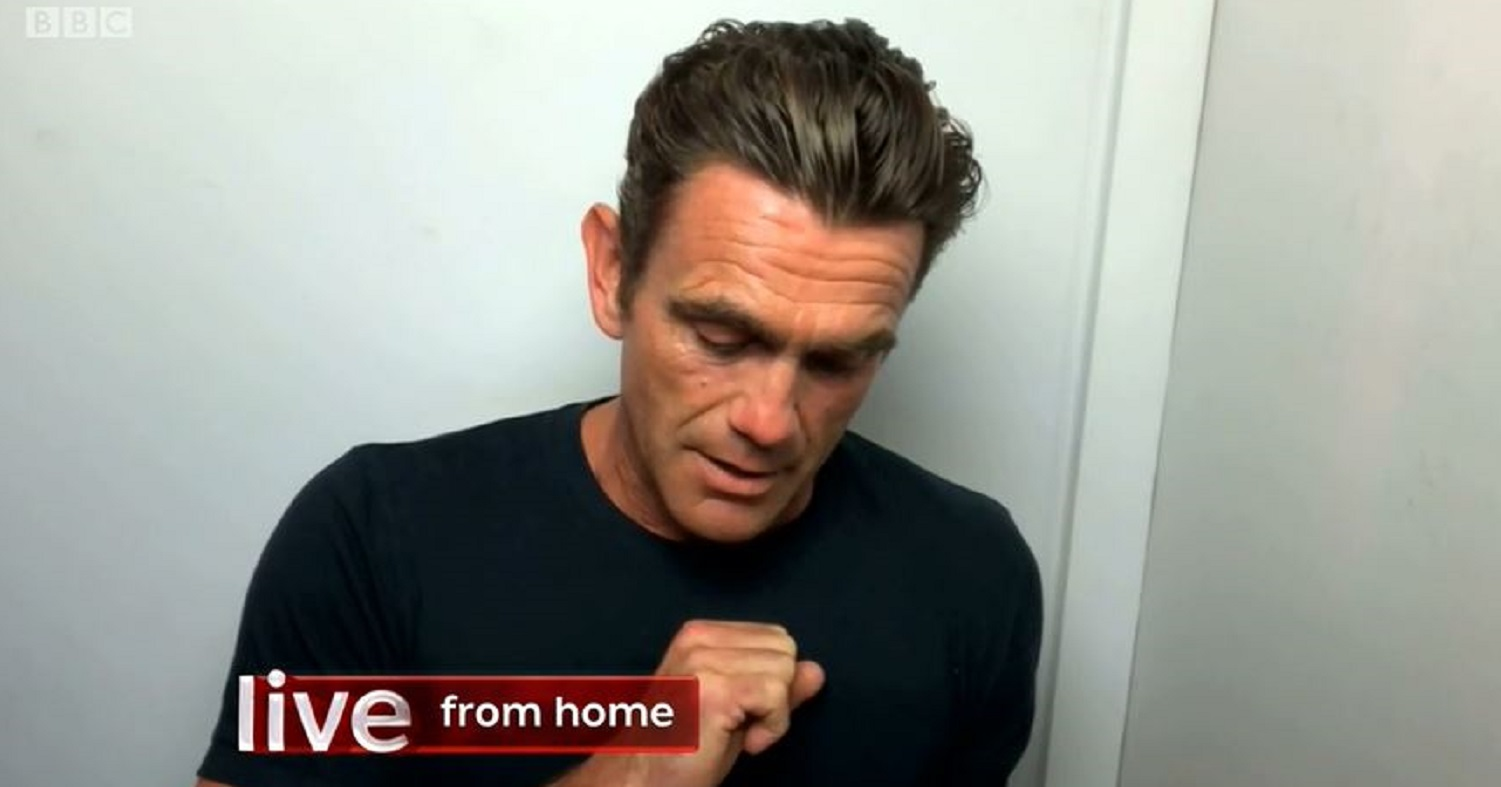 The One Show: EastEnders actor Scott Maslen chokes up over message from NHS nurse
