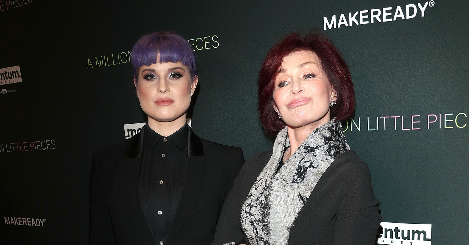 sharon osbourne with her daughter kelly