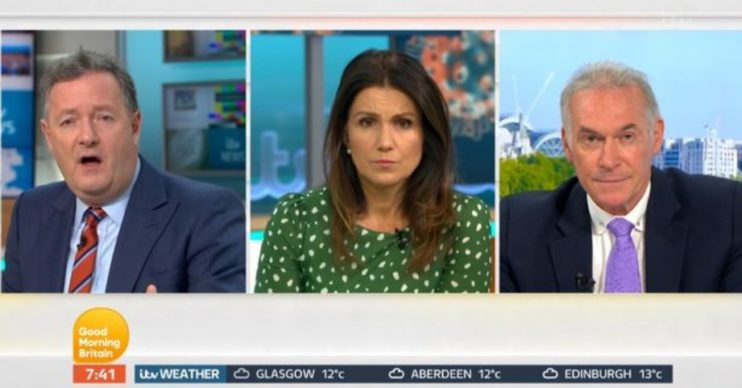 Piers, Susanna and Dr Hilary on GMB
