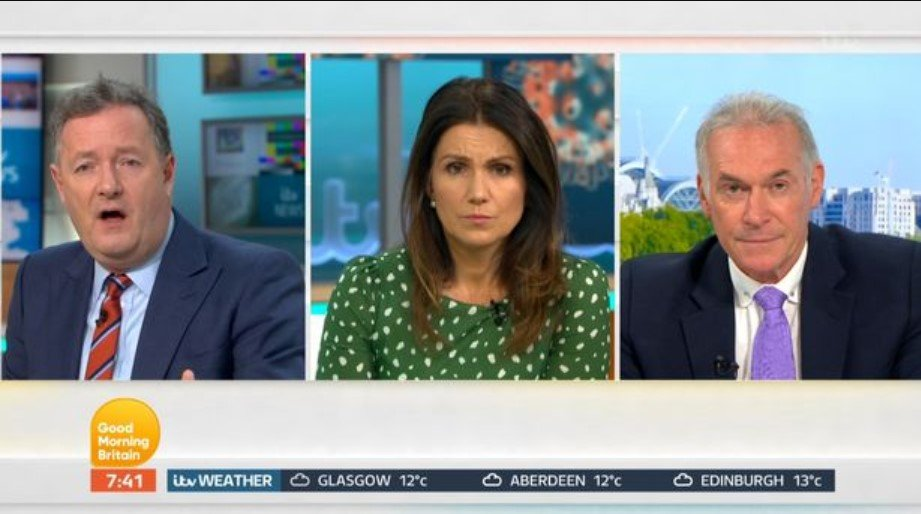 Piers Morgan and Dr Hilary address 'feud' after on-air clash