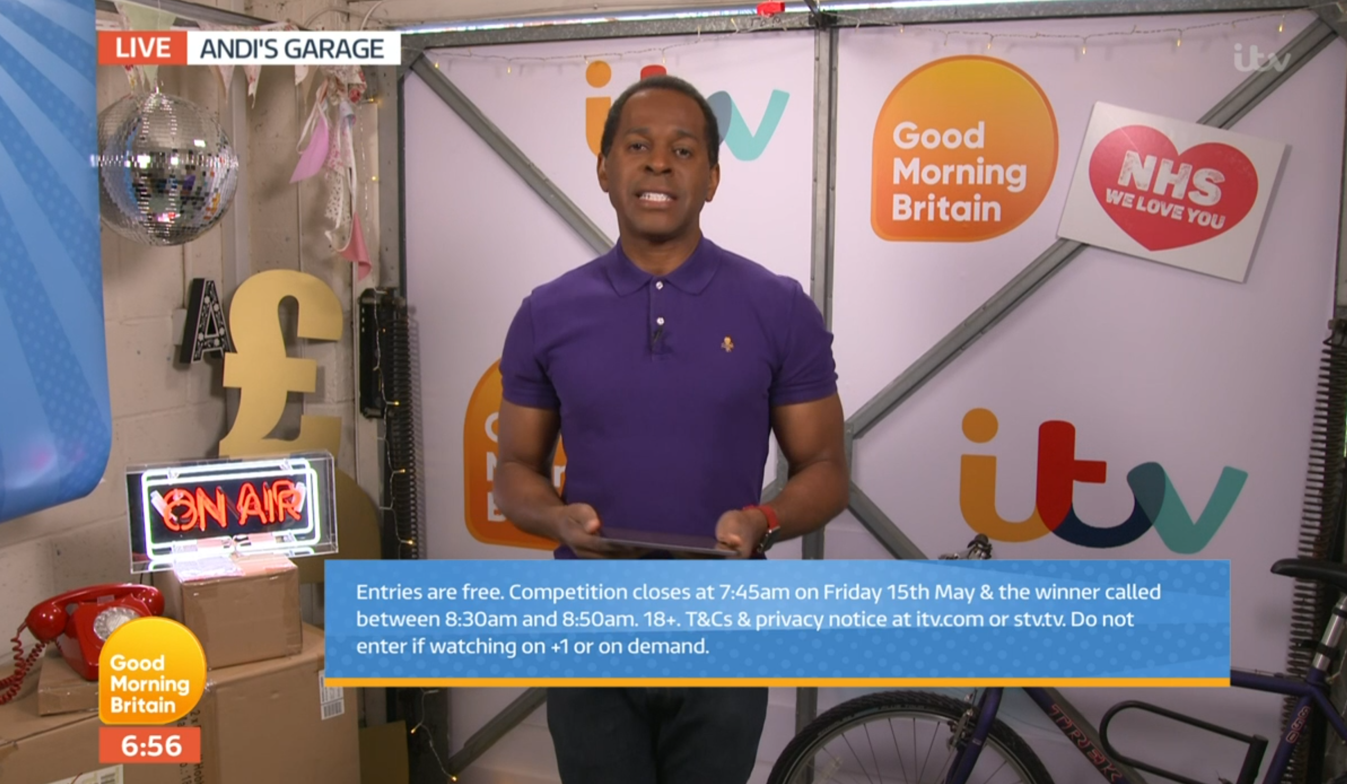 Andi Peters GMB (Credit: ITV)