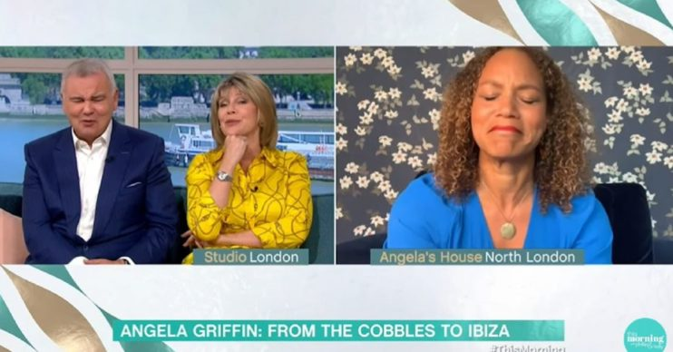Angela Griffin on This Morning