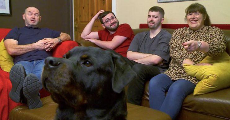 Malone family on Gogglebox