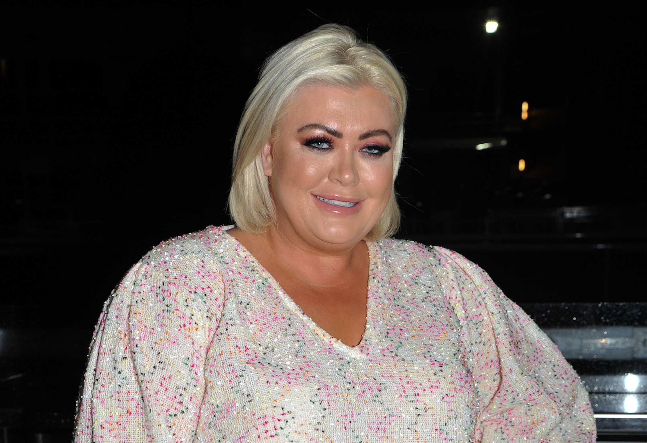 Gemma Collins left covered in blood in 'emergency' after DIY accident