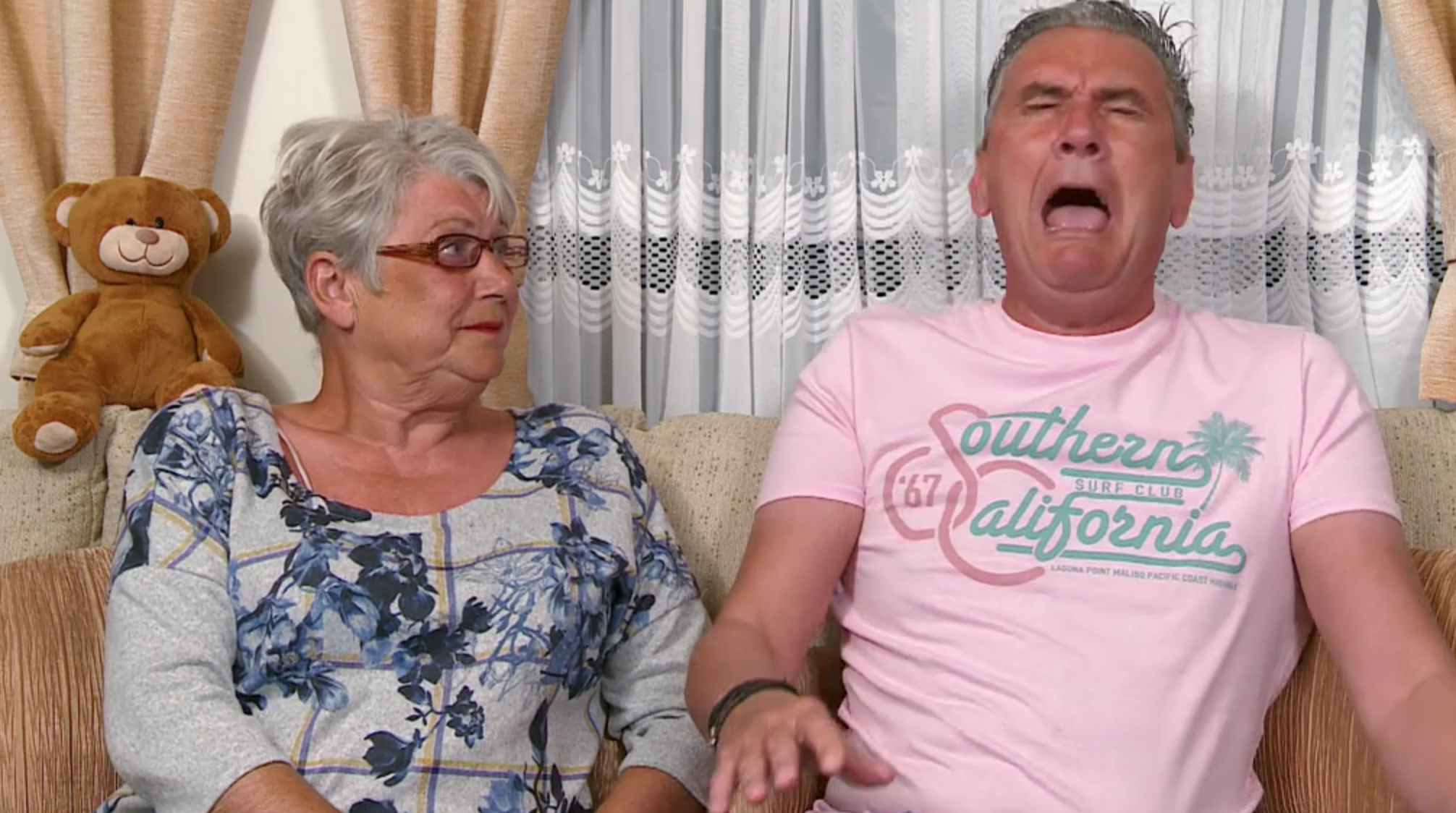 Gogglebox viewers weeping with laughter at Jenny's 'fanny flannel' revelation