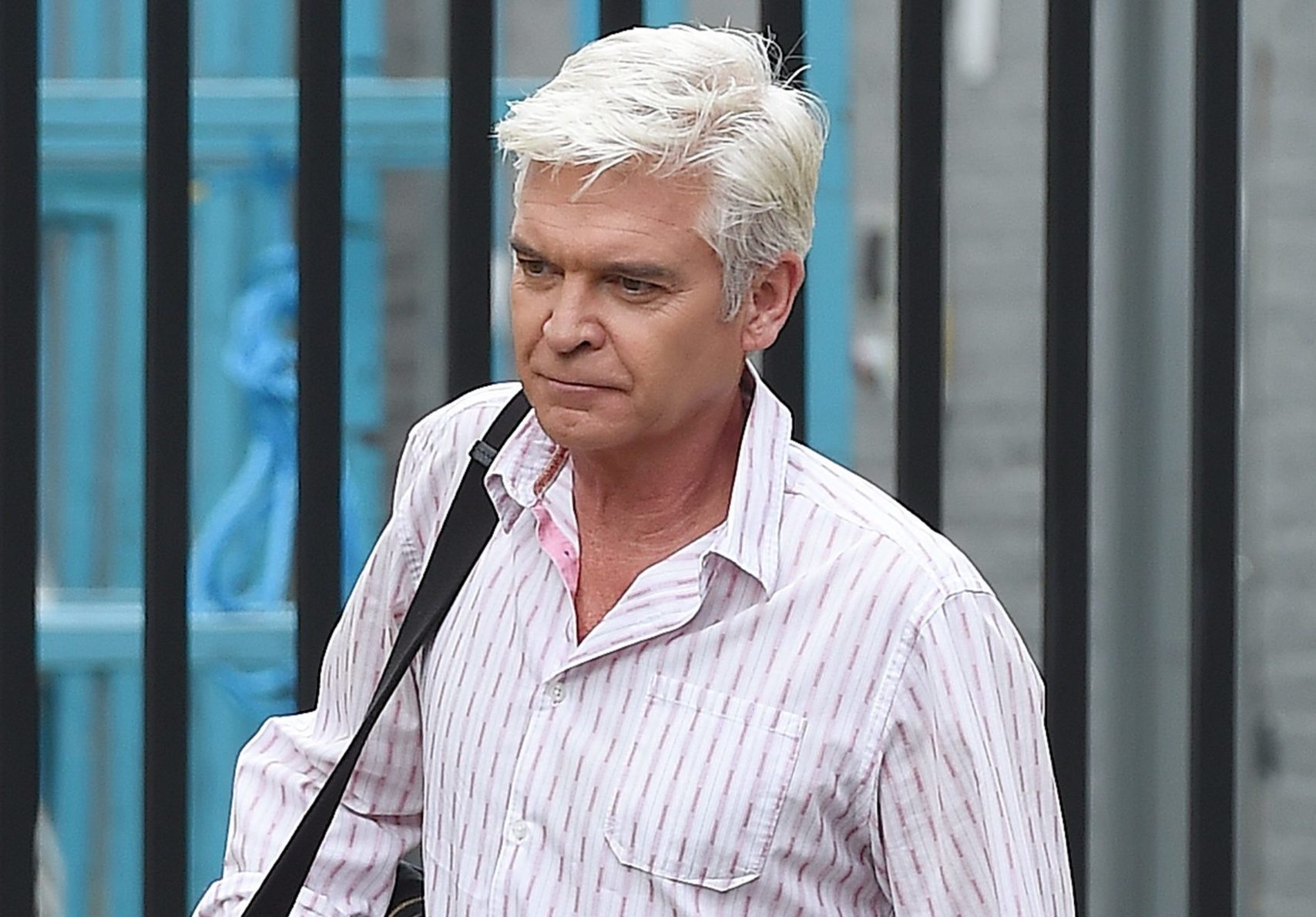 Phillip Schofield slams boyfriend claims after he's pictured out with a mystery man