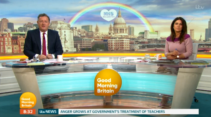 Good Morning Britain technical fault cuts guests off