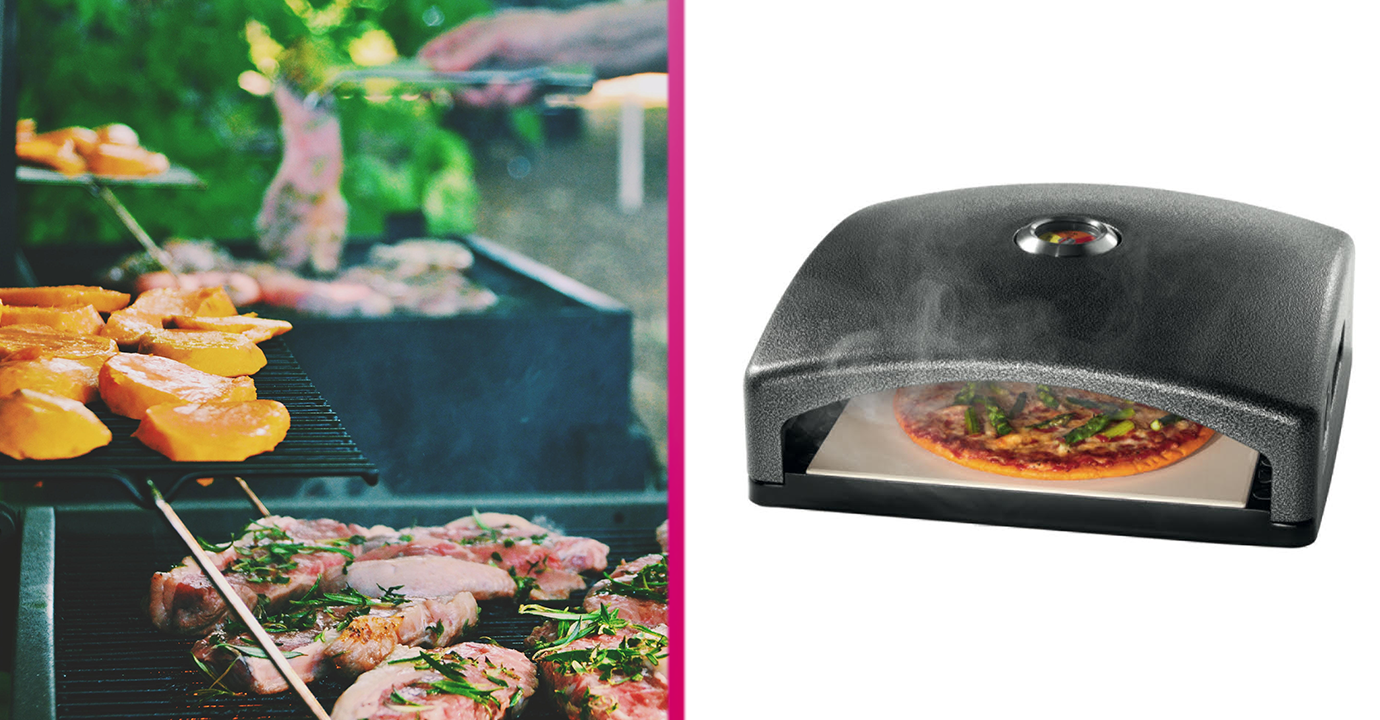 Lidl is launching a barbecue pizza oven just in time for the hottest week of the year