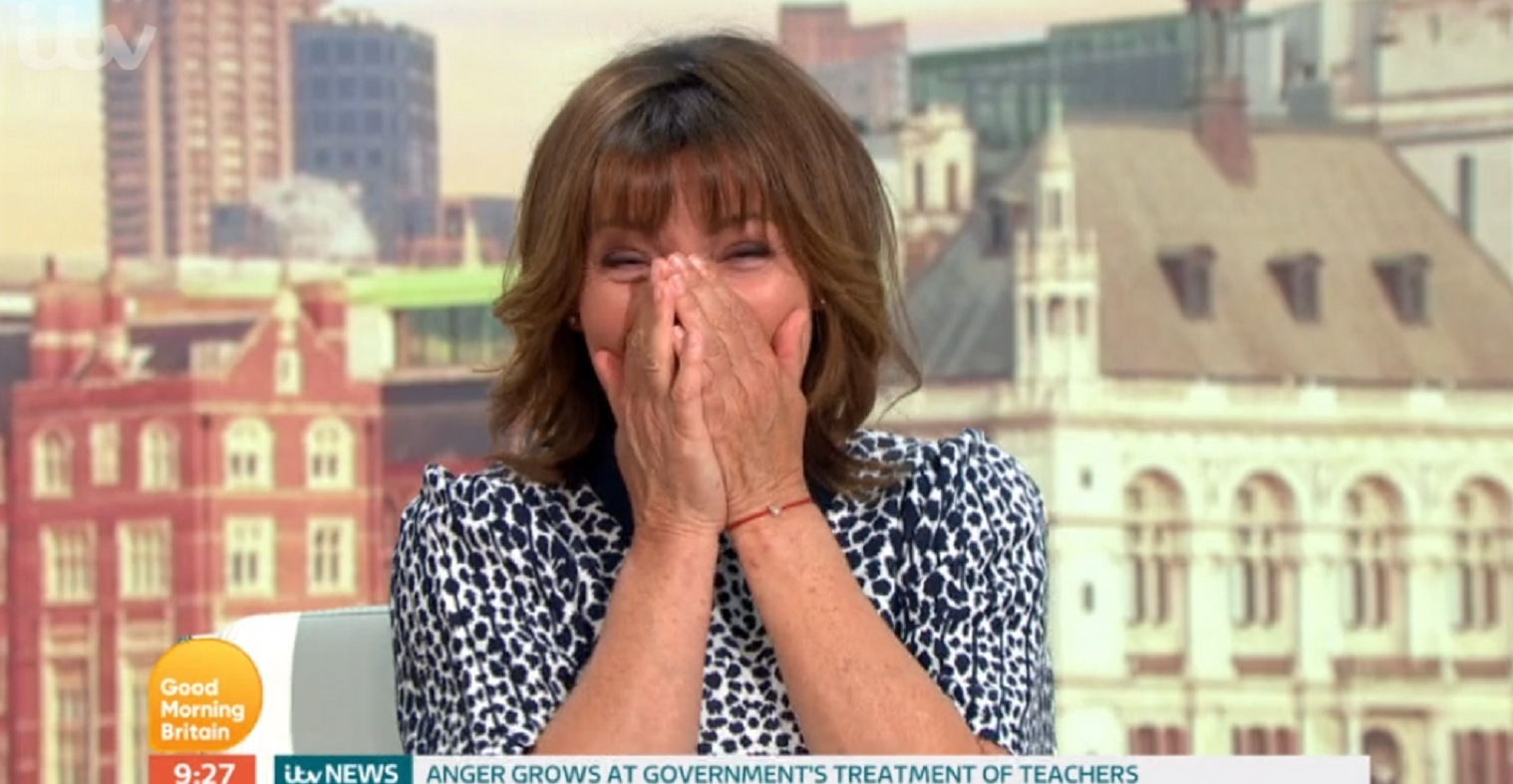 Good Morning Britain: Lorraine Kelly makes Prince Harry and Meghan Markle blunder