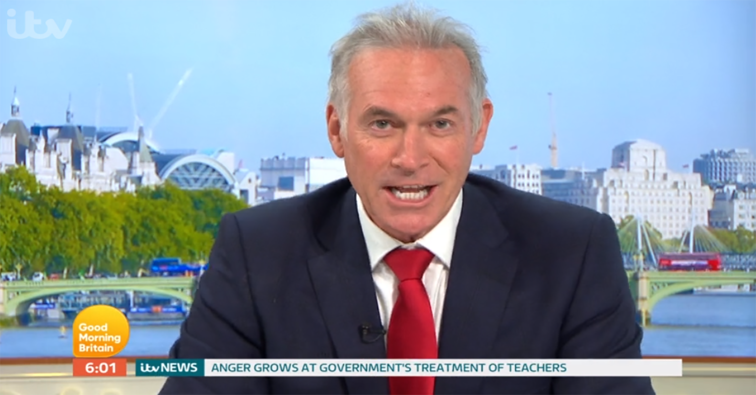 Dr Hilary forced to 'fix his own tooth' during lockdown