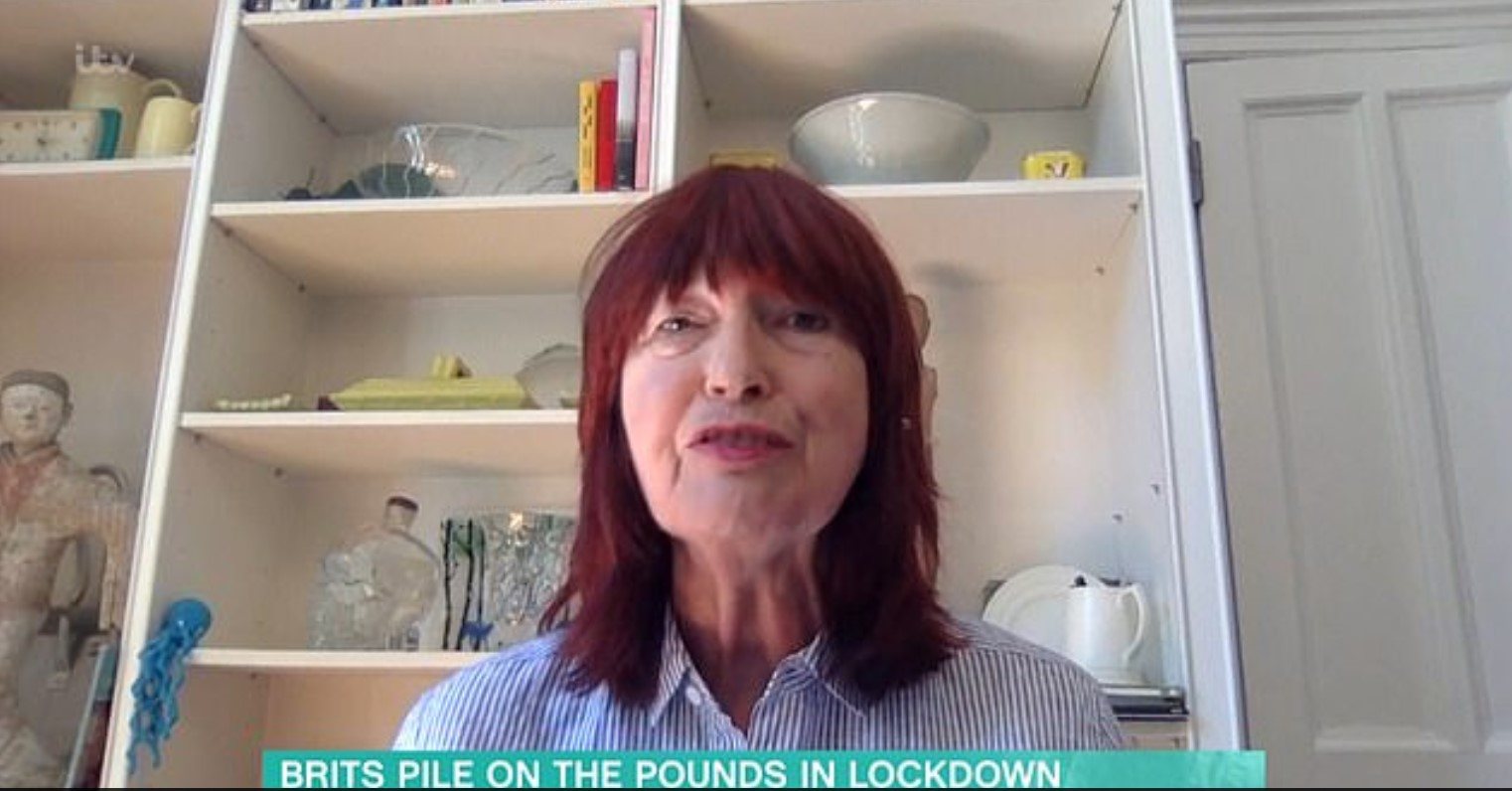 Janet Street Porter tells Boris Johnson to 'get stuffed' after he advises Brits to get fit in lockdown