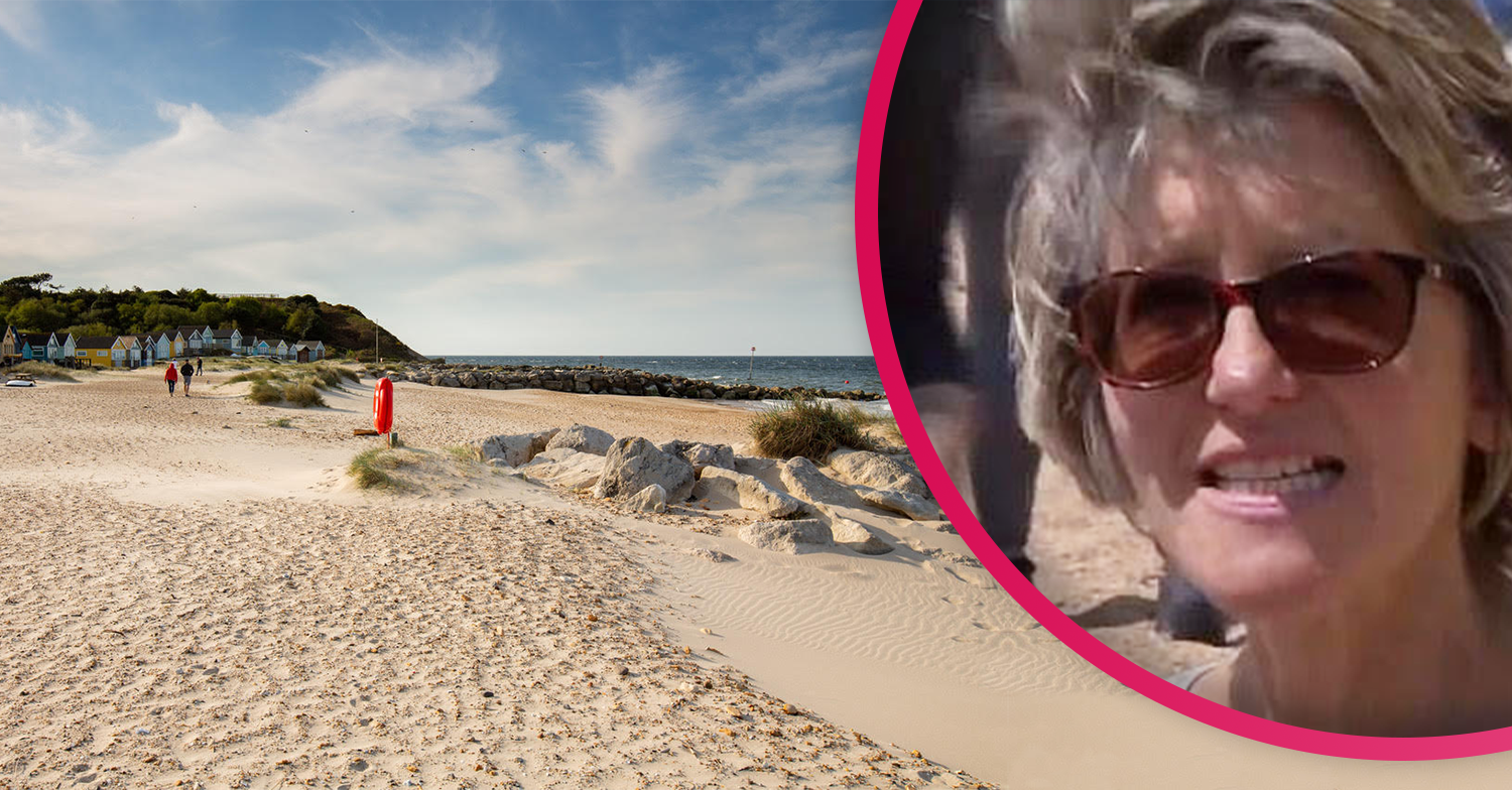 Woman slammed for driving 90 minutes to the coast and complaining packed beach was 'like being in Tesco'