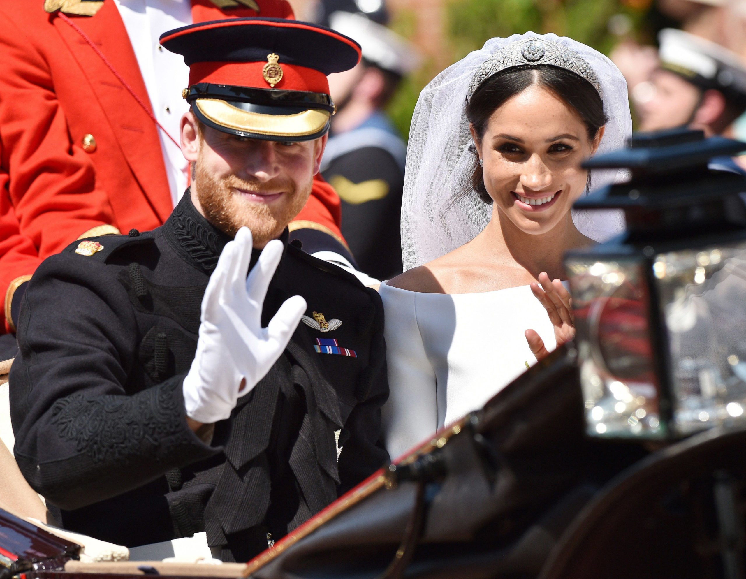 Meghan Markle wedding (Credit: Splash News)