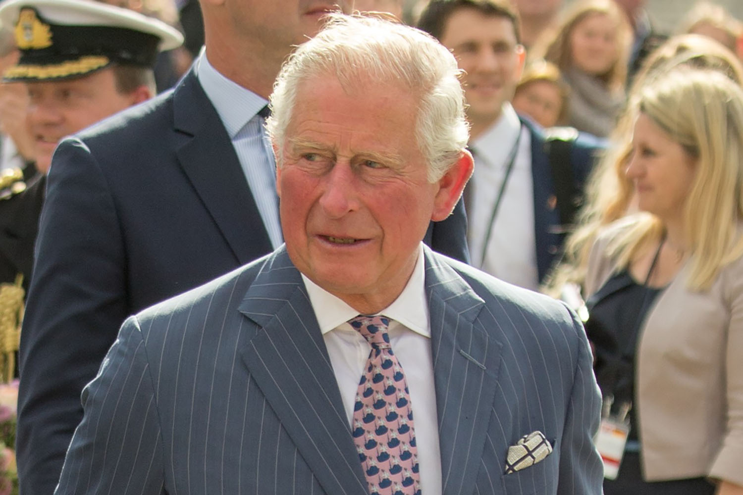 Prince Charles urges jobless Brits to become fruit pickers