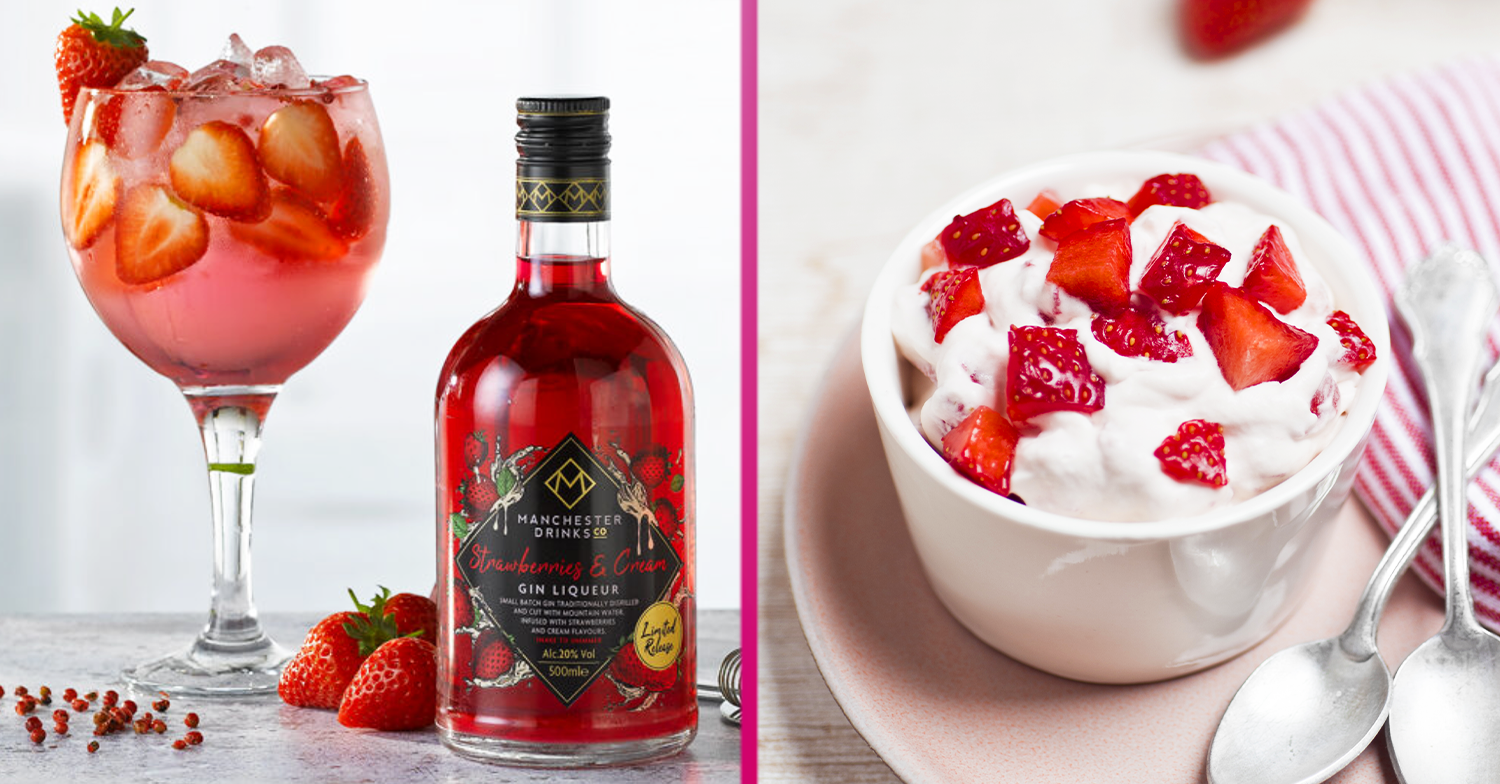 Gin fans say they'll 'put a straw in the bottle' as Home Bargains launches £8 Strawberries & Cream gin liqueur